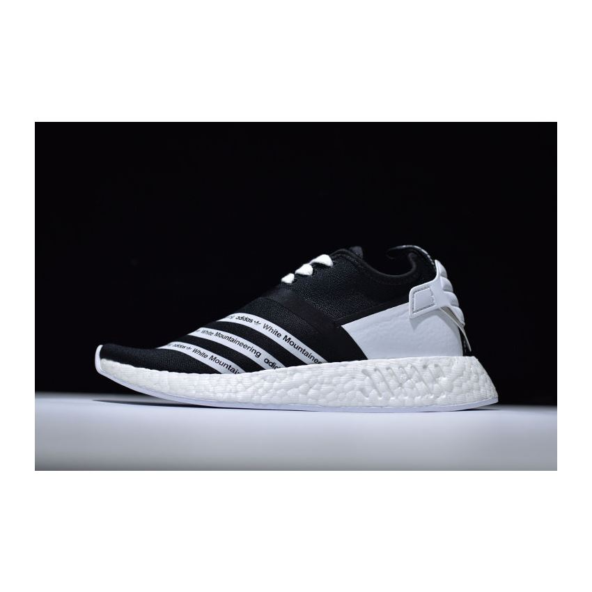 White Mountaineering x Adidas NMD R2 Primeknit Core Black