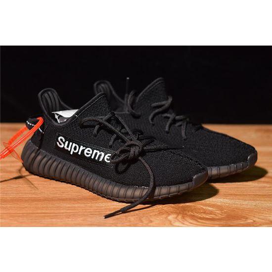 Supreme x Adidas Yeezy Boost 350 V2 BlackWhite F36924, NMD